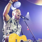 Guy Sebastian, rounding out the nights entertainment