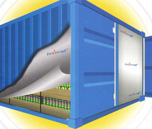 Thermal Insulation Envirotuff Container Liners