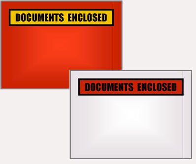 Document Pouch Invoice And Packing Envelopes
