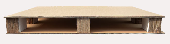 Corrugated Cardboard Pallets And Bulk Bins Lightweight