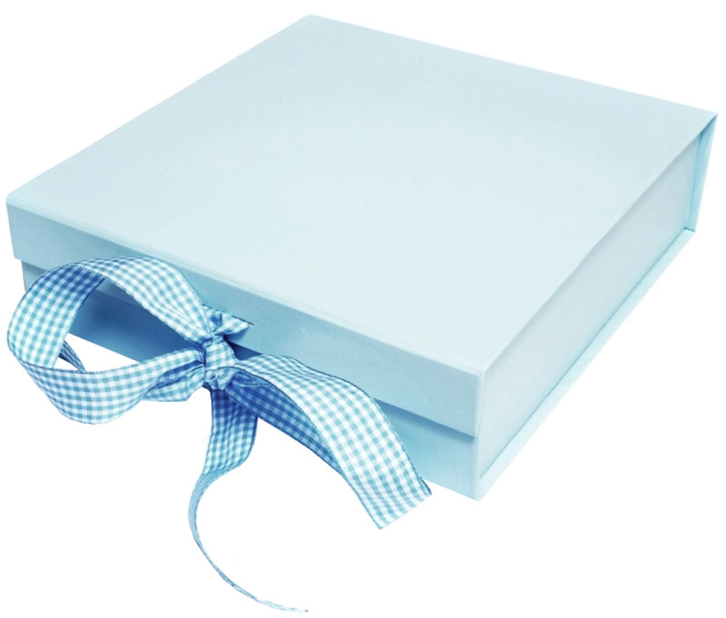 Gift boxes and gift bags blue box negle Gallery