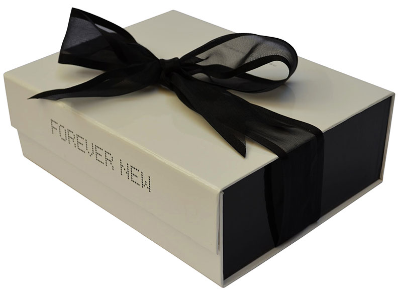 Gift boxes and gift bags blue box david jones forever new negle Choice Image