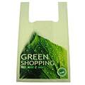 Compostable T-Shirt Singlet Shopping Bag