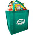 Reusable Green Supermarket Shopping Bag