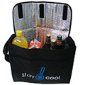 Reusable Green Cooler Shopping Bag