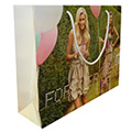 Gloss Laminated Full Colour Print Paper Bag with Cotton Rope Handle